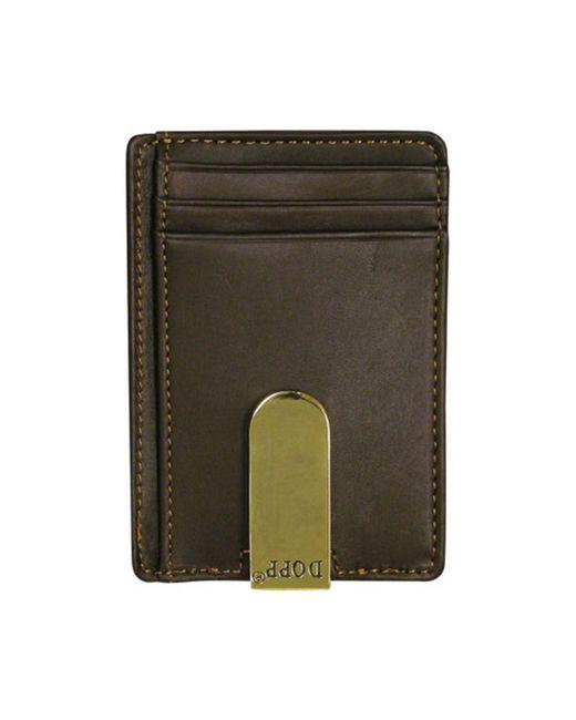 Buxton - Green Men's Regatta Front Pocket Money Clip for Men - Lyst