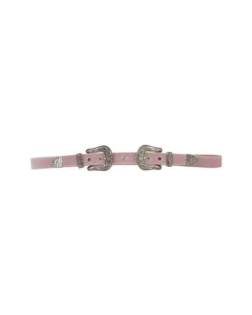 B-Low The Belt | Women's Pink Velvet Belt | Lyst
