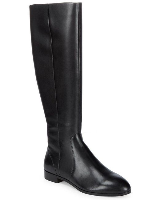 Saks Fifth Avenue - Black Robin Knee-high Boot - Lyst