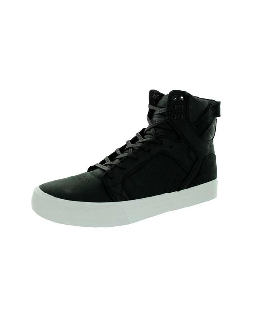 1ef91d71d25f Lyst - Supra Men s Skytop Hf Skate Shoe in Black for Men