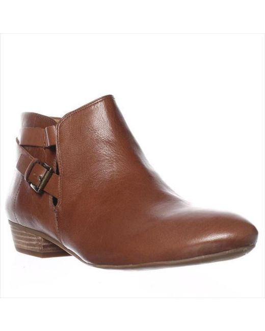 Nine West | Brown Explorer Ankle Boots - Dark Natural | Lyst