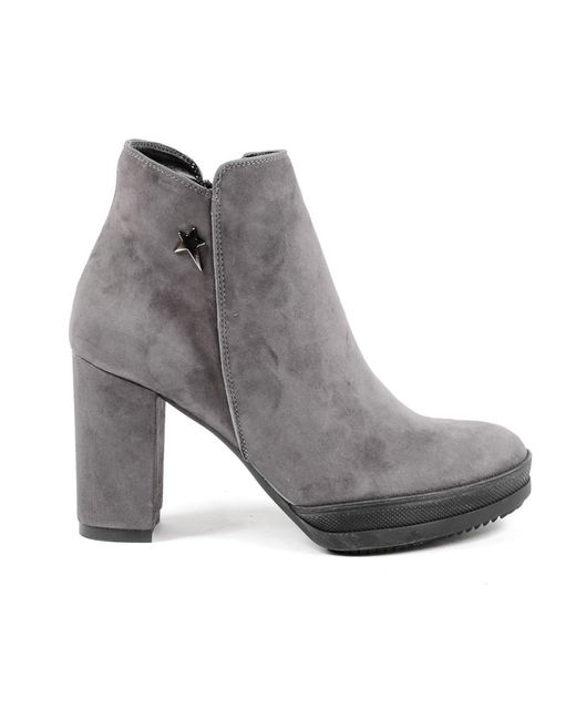 Andrew Charles by Andy Hilfiger - Gray Andrew Charles Womens Heeled Ankle Boot Grey Sheryl - Lyst