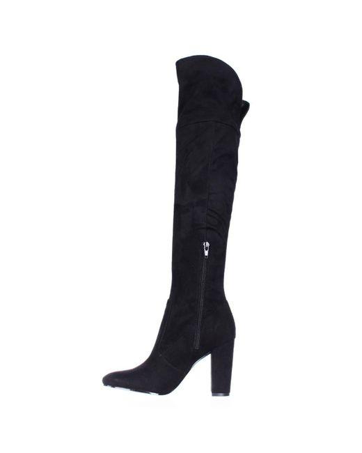 Ivanka Trump - Riviera Over The Knee Heeled Boots - Black - Lyst
