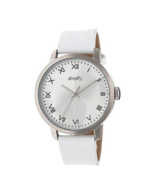 Simplify - White Men's The 4200 Quartz Watch for Men - Lyst