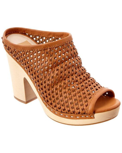 Dolce Vita - Brown Brooks Leather Sandal - Lyst