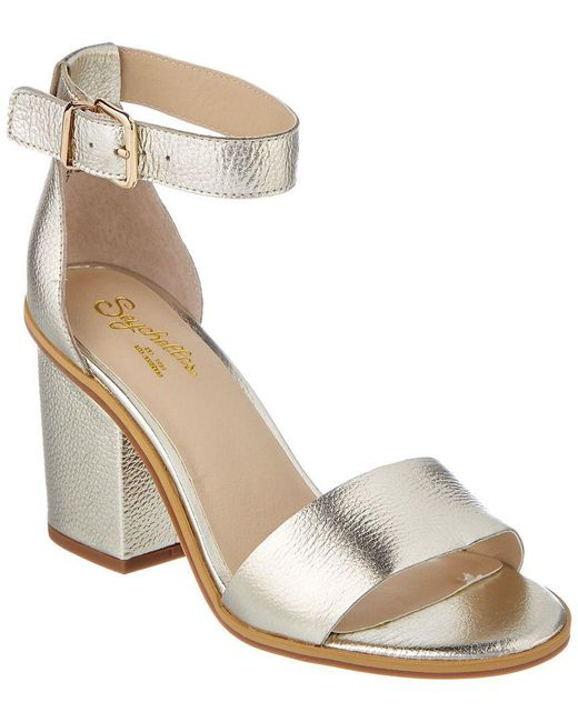 Seychelles - Metallic Movement Leather Sandal - Lyst