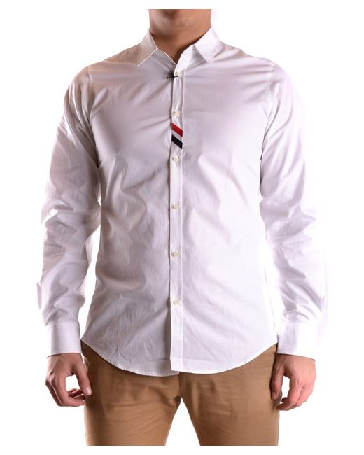 DSquared² - Men's Mcbi107205o White Cotton Shirt for Men - Lyst
