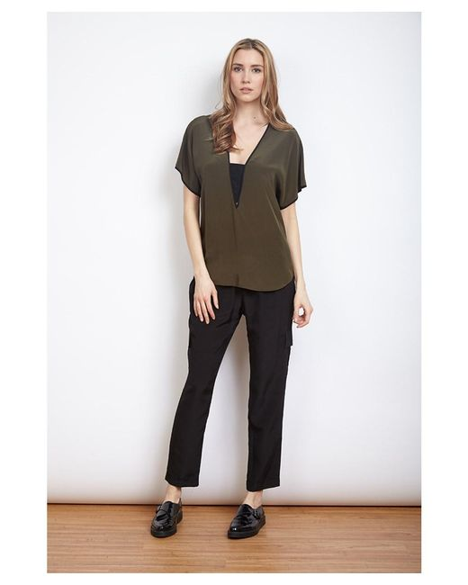 Dora Landa - Green Claudia Top - Lyst