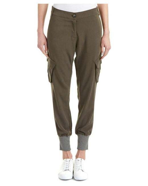 James Jeans | Military Green Boyfriend Cargo Pant | Lyst