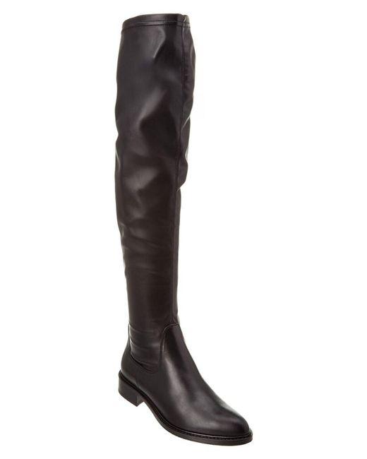 Aquatalia - Black Gisele Waterproof Leather Over The Knee Boot - Lyst