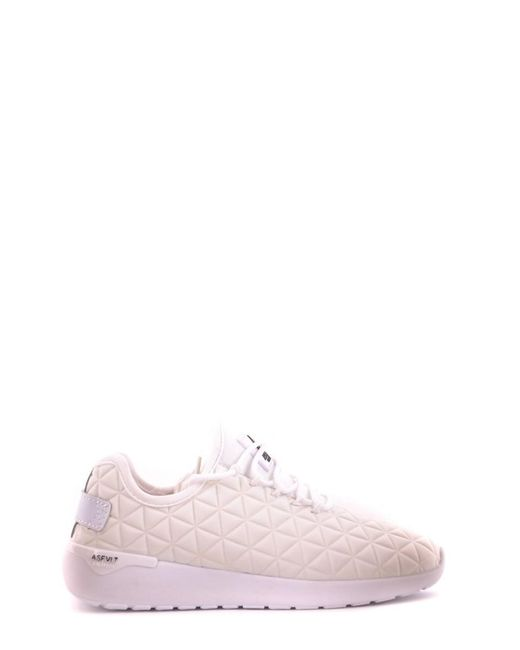 ASFVLT Sneakers | Women's White Fabric Sneakers | Lyst