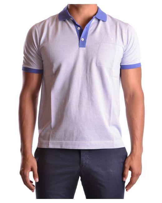 Ballantyne - Purple Men's Mcbi032021o Multicolor Cotton Polo Shirt for Men - Lyst