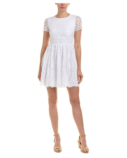 Sail To Sable - White A-line Dress - Lyst