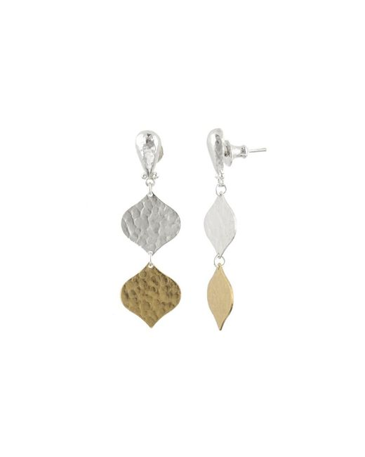 Gurhan - Metallic Clove Double Drop Earrings - Lyst