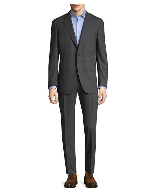 Canali - Gray Buttoned Sleeve Cuffs Suit for Men - Lyst