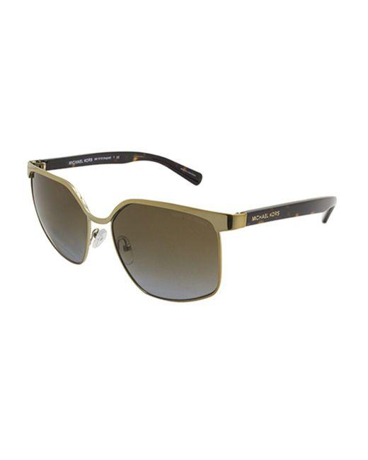 2a9e69bd5f Michael Kors - Metallic Mk1018 August Women Sunglasses - Lyst ...