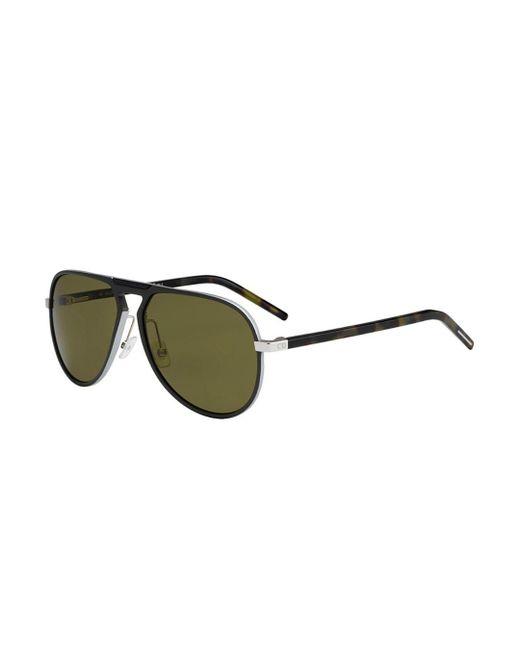 ec8293f0c1 Dior - Green Al 132 Men Sunglasses - Lyst ...