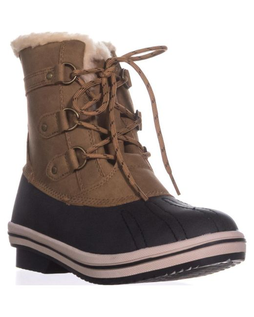 BEARPAW - Brown Pawz By Gina Cold-weather Duck Boots, Hickory - Lyst