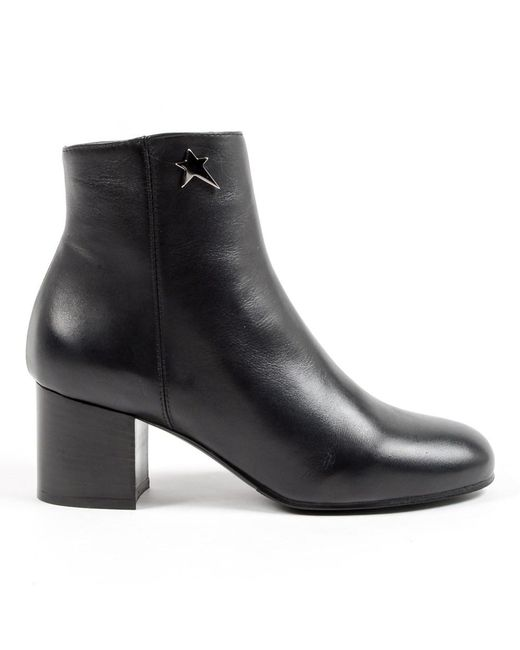 Andrew Charles by Andy Hilfiger - Andrew Charles Womens Heeled Ankle Boot Black Cooper - Lyst