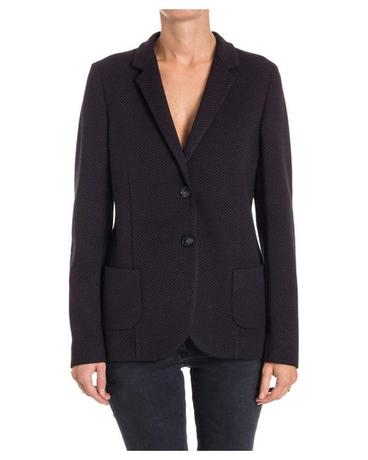 Seventy - Women's Black Wool Blazer - Lyst