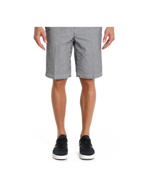 Paul & Shark - Gray Men's E18p4191sf100 Grey Cotton Shorts for Men - Lyst