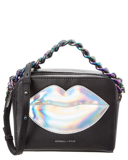 Kendall + Kylie - Black Lucy Patch Crossbody Bag - Lyst