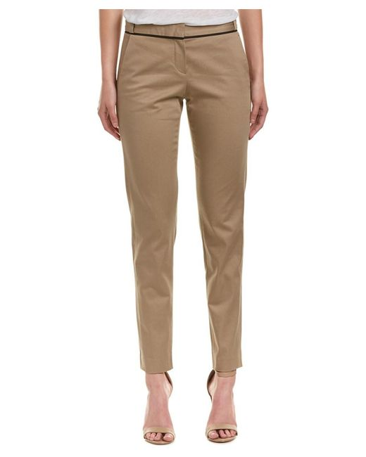 Maje - Natural Basic Pant - Lyst