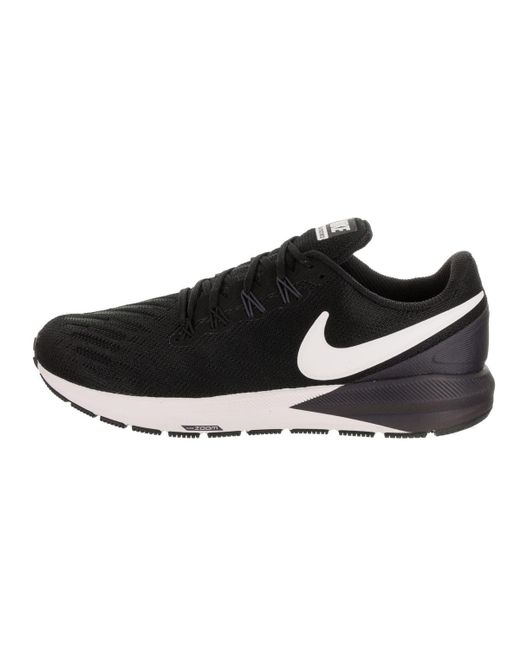 3a3d8b0b8bc ... Lyst Nike - Black Men s Air Zoom Structure 22 Running Shoe for Men ...
