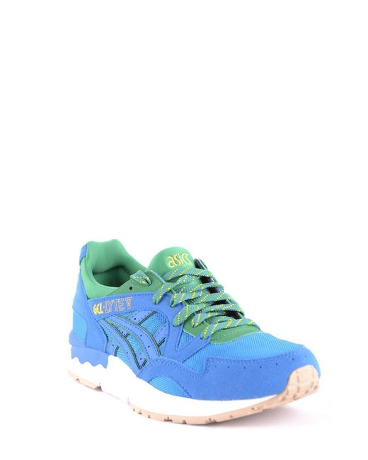 Asics Men's Blue Fabric Sneakers buy cheap extremely Evd0jFfB