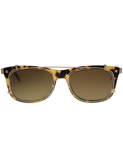 9fe69362a26c ... Marc Jacobs - Multicolor With Clip Marc 17 U63 Spotted Havana Rectangle  Sunglasses - Lyst ...