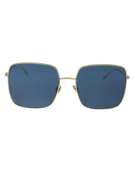5603090fadec8 Lyst - Dior Diorstellaire1 Lks Gold Blue Square Sunglasses in Blue