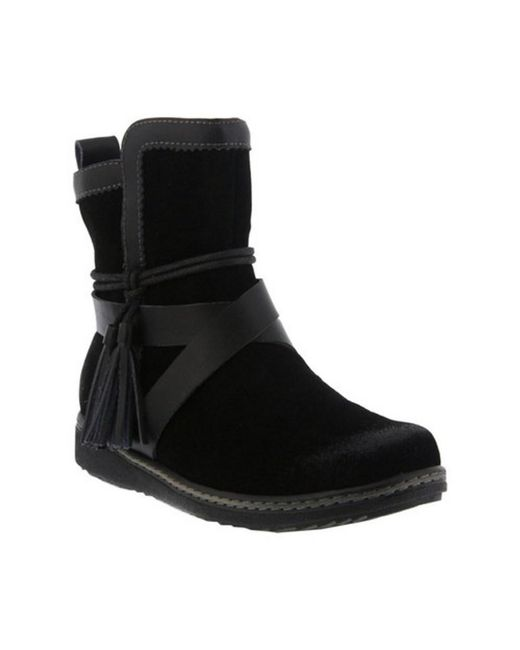 Spring Step - Black Women's Patrina Mid Calf Boot - Lyst