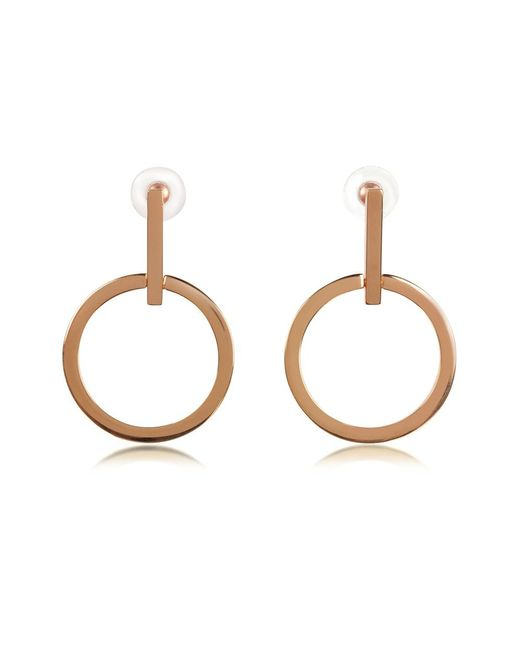 Vita Fede - Metallic Women's Gold Metal Earrings - Lyst