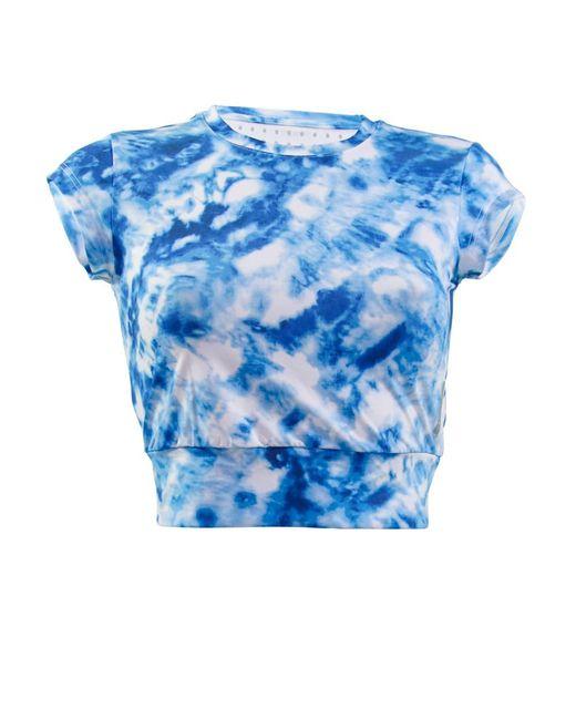 Seafolly - Blue Crop Top Caribbean Ink - Lyst