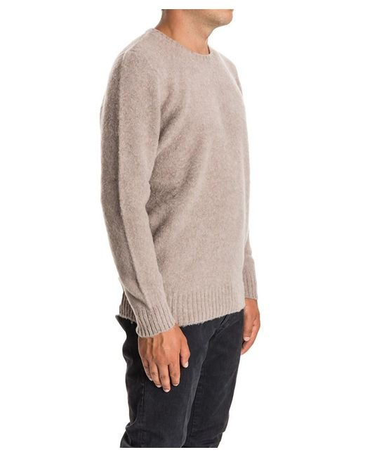 6fff0ce51d237a ... Drumohr - Brown Men's Beige Wool Sweater for Men ...