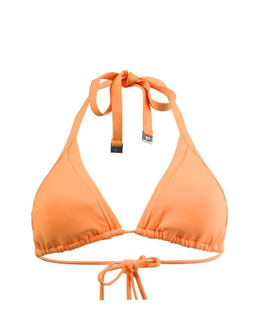 Seafolly | Orange Triangl Top Swimsuit | Lyst