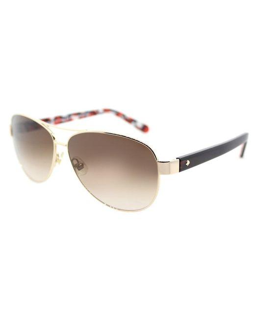 Kate Spade - Metallic Women Dalia2 Aviator Metal Sunglasses - Lyst