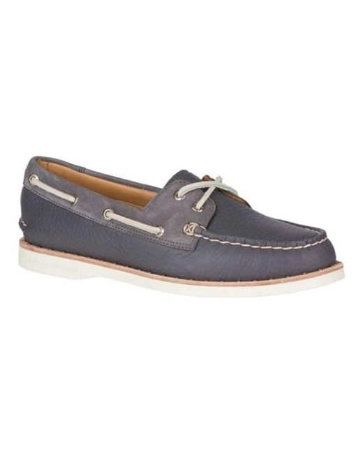 Sperry Top-Sider - Gray Women's A/o 2-eye Studded - Lyst