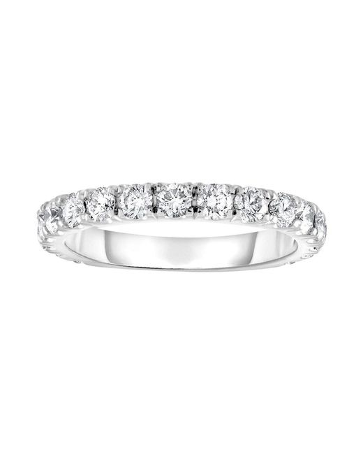 Diana M - 18k White Gold Diamond Ring With 0.75 Carat Of Total Diamond Weight - Lyst