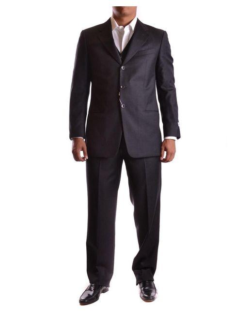 Armani - Gray Men's Mcbi024039o Grey Wool Suit for Men - Lyst