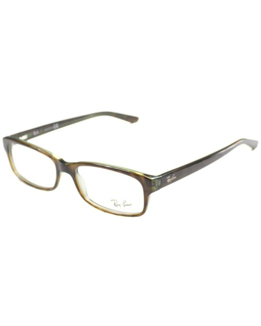 Ray-Ban - Green Rectangle Plastic Eyeglasses - Lyst