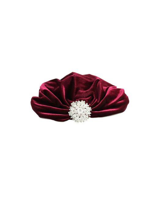 Kristin Perry | Black Crystal Floral Flapper Turban | Lyst