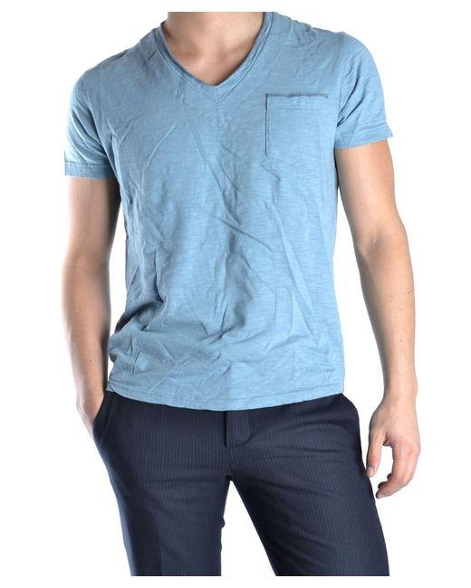 Virtus Palestre | Men's Light Blue Cotton T-shirt for Men | Lyst