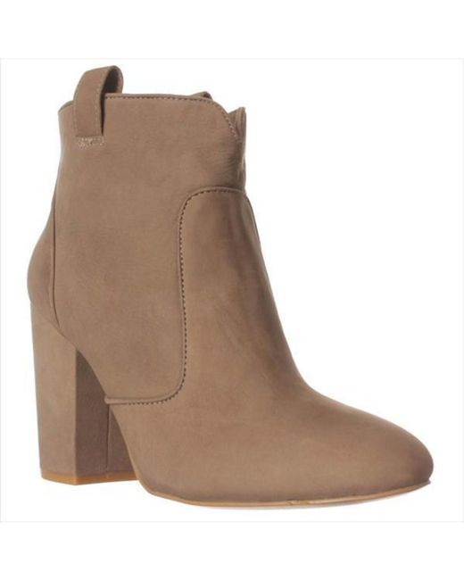 French Connection - Gray Livvy Ankle Boots, Olive Branch - Lyst