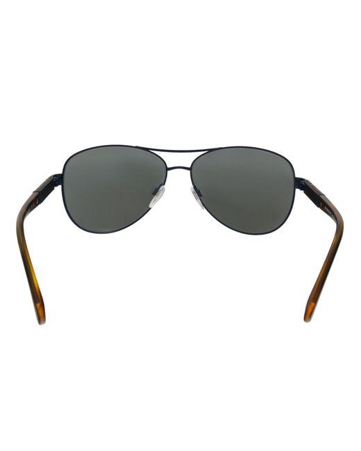 8f63314c55a ... Burberry - Be3080 12346g Matte Blue Aviator Sunglasses - Lyst ...