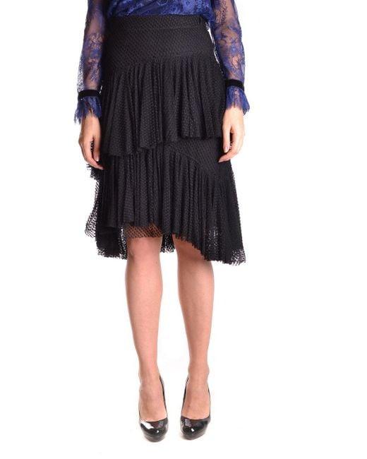 Philosophy - Women's Black Cotton Skirt - Lyst