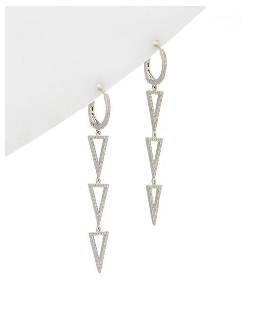 Effy - Metallic Fine Jewelry 14k 0.55 Ct. Tw. Diamond Drop Earrings - Lyst