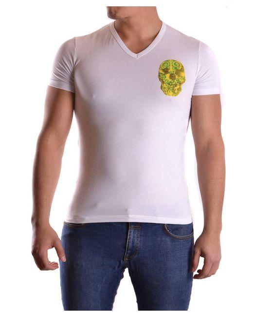 John Galliano | Men's White Cotton T-shirt for Men | Lyst