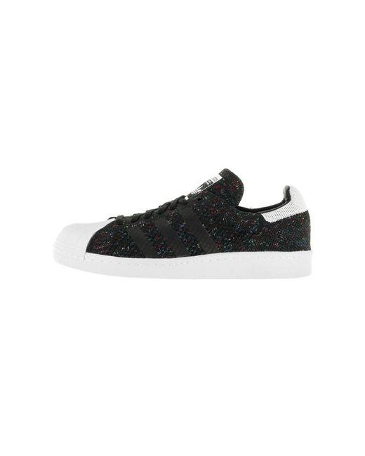 lyst adidas superstar degli anni '80 uomini pk originali casual scarpa in nero