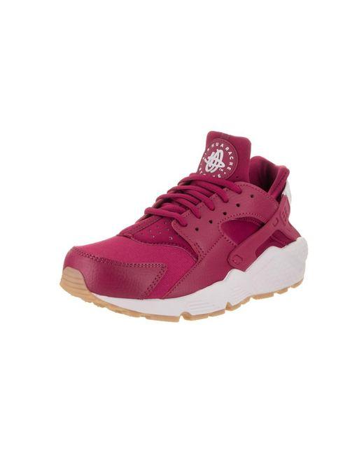 5a8cdf506e3d Nike - White Women s Air Huarache Run Running Shoe - Lyst ...